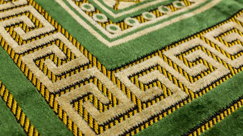Medinah bönematta - Grön