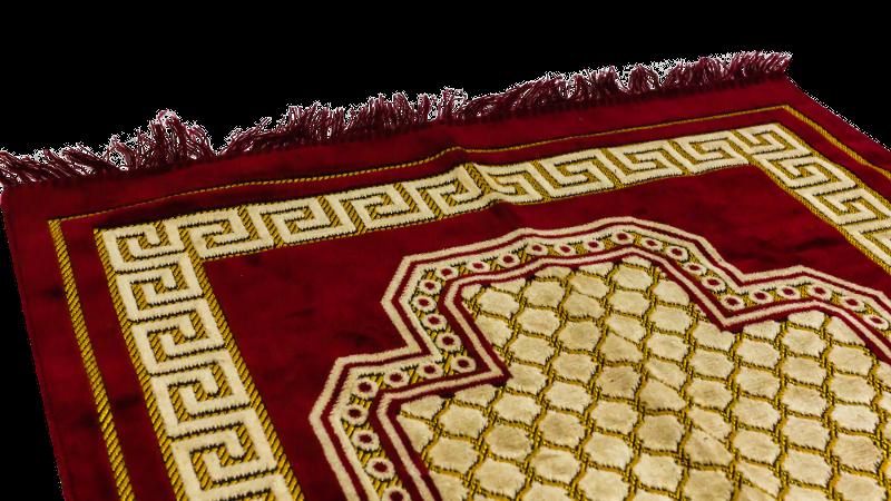 Medinah bönematta - Röd