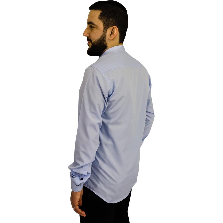 313 Skjorta regular fit - Ljusblå