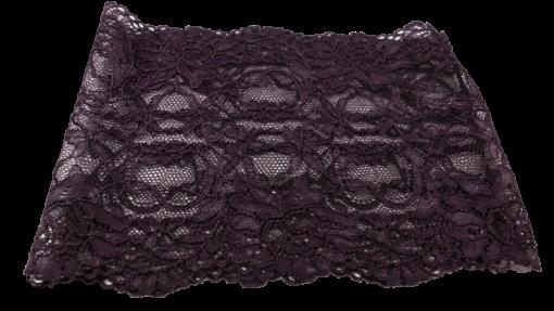 Lace undersjal - Mörklila