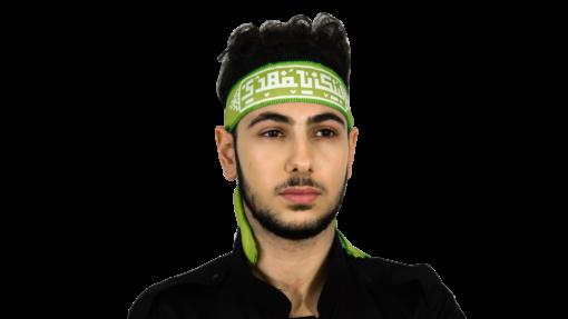 Labbayk pannband - Ljusgrön