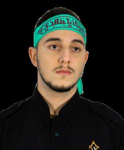 Labbayk pannband - Turkos