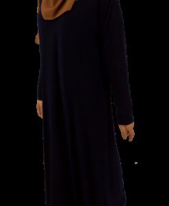 Jumana abaya - Mörkblå
