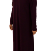 Jumana abaya - Mörklila