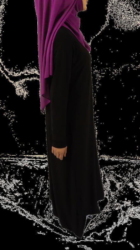 Jumana abaya - Svart