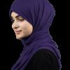 Jersey Indigo hijab