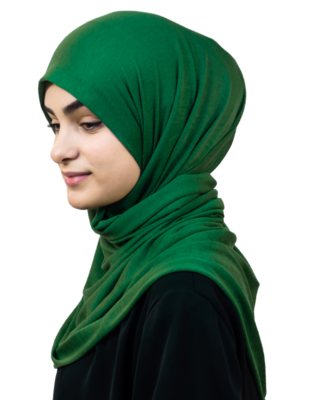 Jersey Moderate Green hijab
