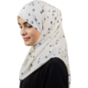 Heart Blossom hijab