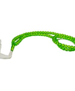Enkelt radband - Ljusgrön