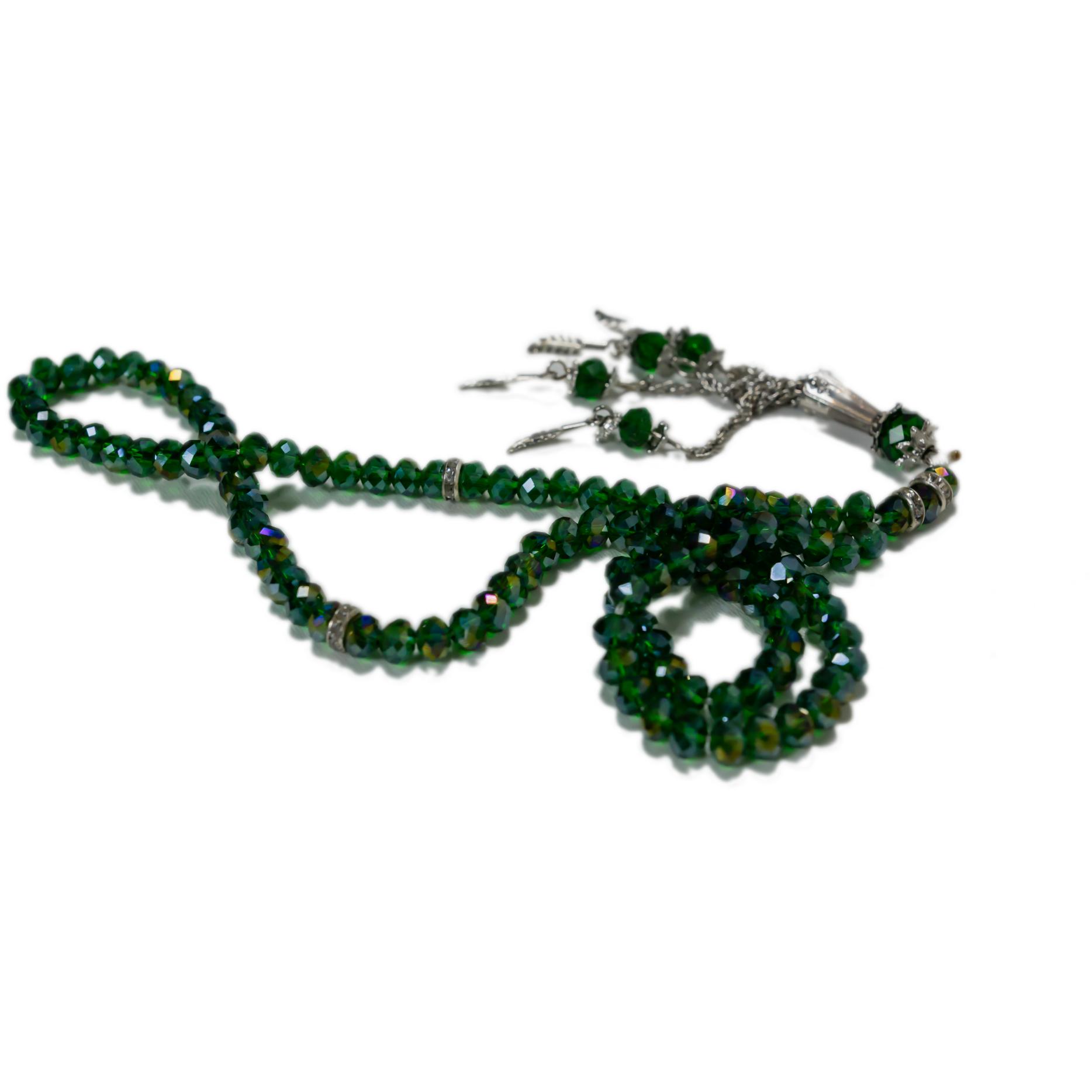 Elegant radband - Mörkgrön