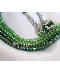 Elegant radband - Grön