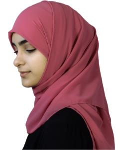 Elegant lotus hijab