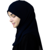 Elegant Navy hijab