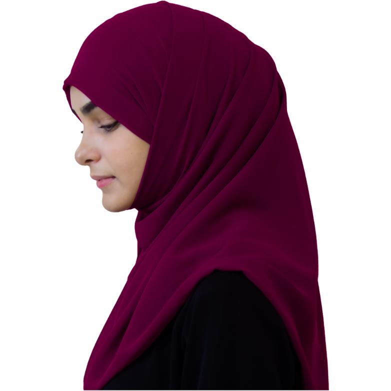 Elegant Light Nachovy hijab