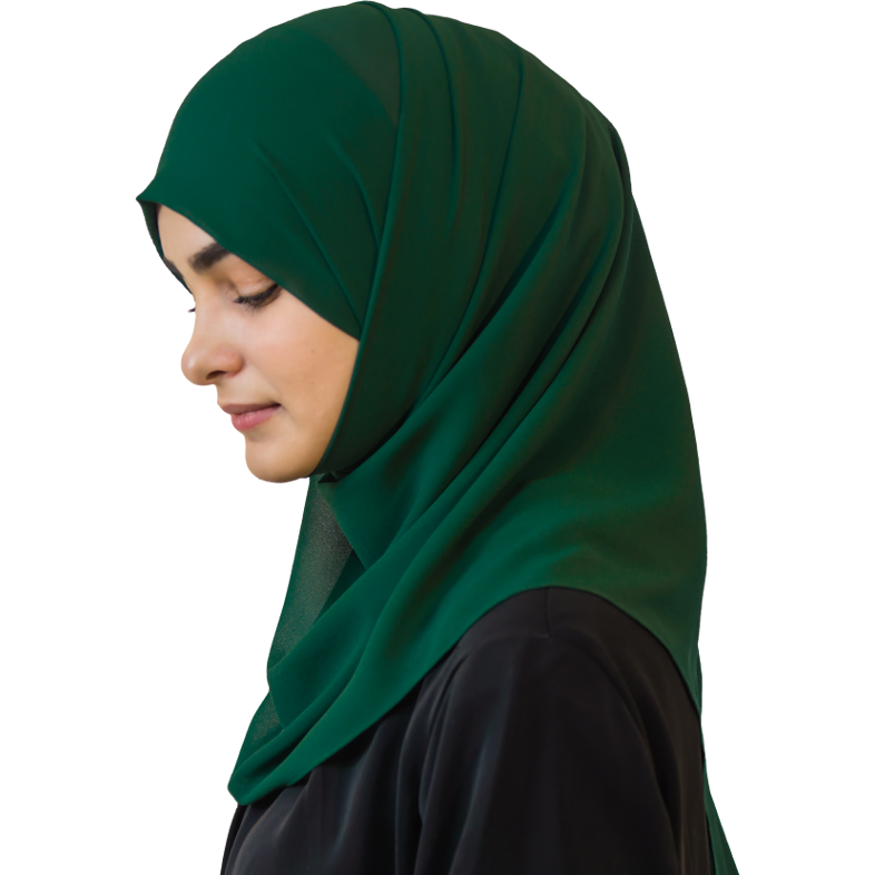 Elegant Forest hijab