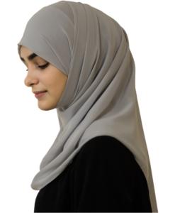 Elegant Light Moon hijab