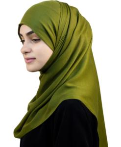 Divine Pure Olive hijab