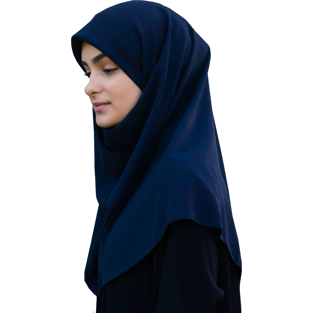 Amal maqna'a - Marinblå