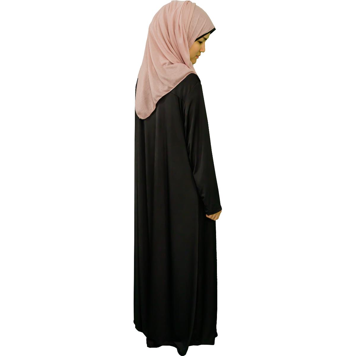 Abaya med dragkedja
