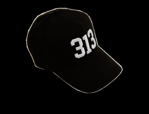 313 keps - Svart