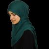 Jersey green-blue hijab