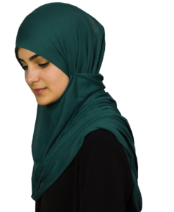 Jersey green-blue hijab