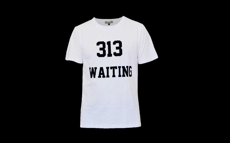 313 T-shirt Vit