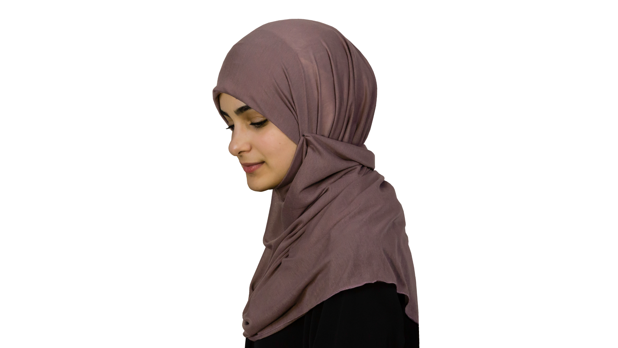 Jersey orchid hijab
