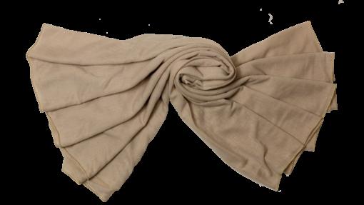 Jersey beige hijab