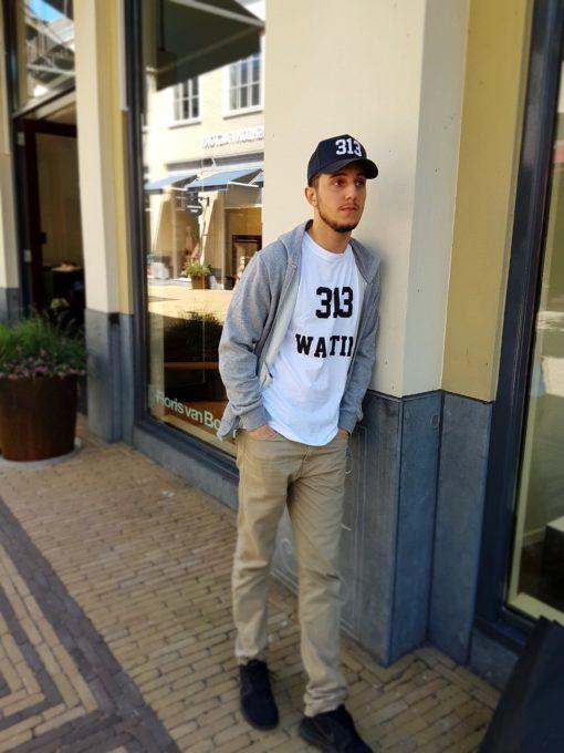 313 T-shirt Svart