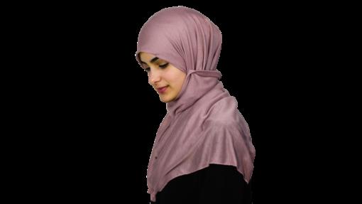 Jersey sky magenta hijab