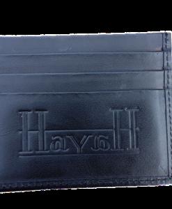 Hayah korthållare  i äkta skinn - Halal