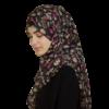 Flower svart hijab