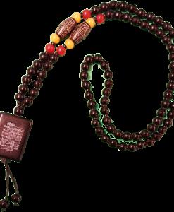 Aya kursi halsband Gul-Röd